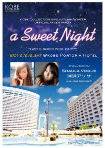 a sweet night